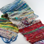 Freeform Weaving with Handspun