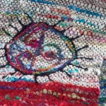 Freeform weaving, Handspun
