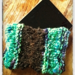 iPad Sleeve with Two Handspun Yarns 2