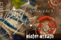 Art Yarn Wreath Making